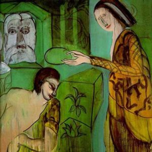 Grace Hartigan 'Crowning of the Poet' (1985)