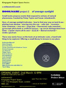 Bookmare 2 Private View: March 2nd 2017 6 - 9